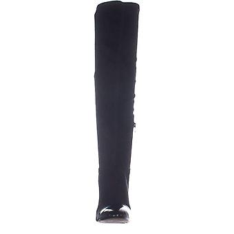 INC internasjonale konsepter Womens Alvita fabric cap toe over kneet mote støvler