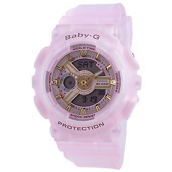 Casio Baby-g Maailman aika Kvartsi Ba-110sc-4a Ba110sc-4a 100m Naiset's Watch