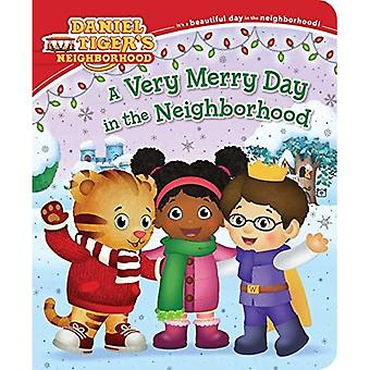 A Very Merry Day in the Neighborhood (Daniel Tiger's Neighborhood) [Board book]