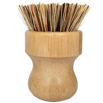 Coconut Mini Scrub Brush Bamboo Dish Scrubr