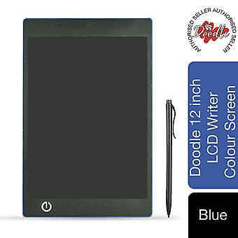 Aquarius Doodle 12inch LCD Writing & Drawing Tablet Board-Blue