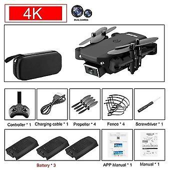4k Hd Telecamera grandangolare 1080p Wifi Drone, altezza mantenendo con fotocamera Rc