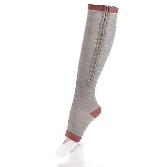 Leg Support Stretch Compression Socks Men Women Running Athletic Medical