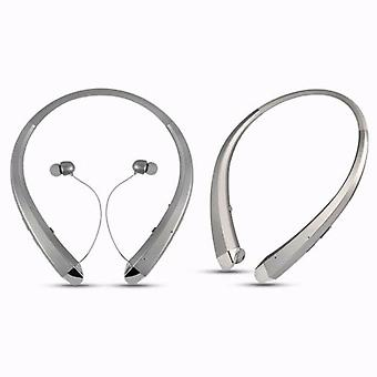 Aquarius Premium Bluetooth Wireless Stereo Headset Fitness Headset Silber