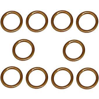 14Mm Öl Sumpf-Steckerscheiben (Set von 10) Für Peugeot, Citroen, Volvo & Toyota 30725034, 8653809, 0313.27