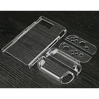 Transparent, Crystal Clear Hard-case Protective Cover For Nintend Switch
