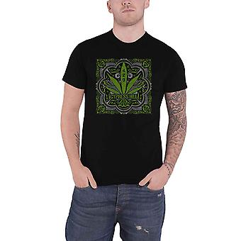 Cypress Hill T Shirt 420 Leaf Band Logo new Official Mens Black