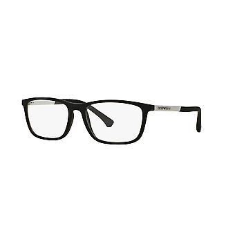 Emporio Armani EA3069 5063 Black Rubber Glasses
