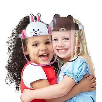 Bambini Bambini Anti-goccioline Visiera Scudo Bucket Hat & Face Protective Cap,