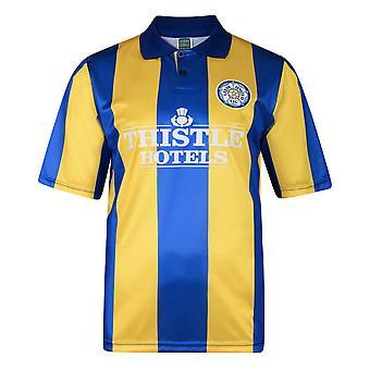 Score Draw Leeds United 1994 Away Retro Football Shirt