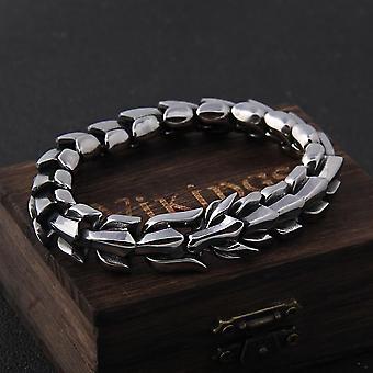 Bracelet de mode vintage punk en acier inoxydable