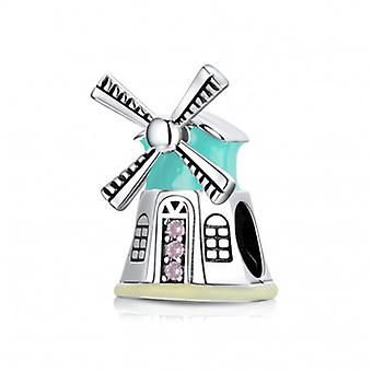 Sterling Silver Charm Windmill - 6945