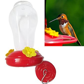 Plastics Bird Water Feeder Bottle Hanging Hummingbird Feeder  (red)