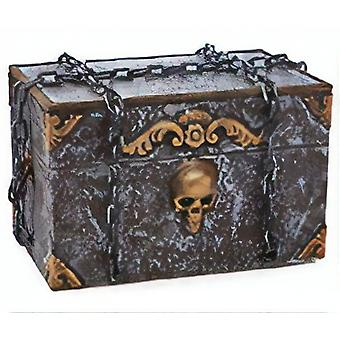Pirate Treasury 30 X 30 X 50 Cm Grey / Gold