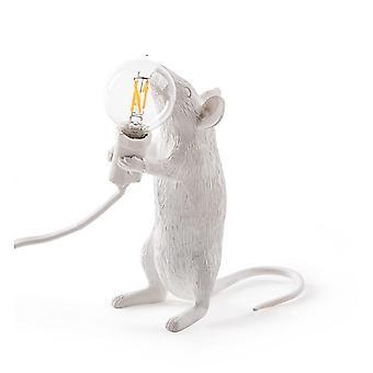 Lampada da tavolo a topo di ratto animale in resina postmoderna