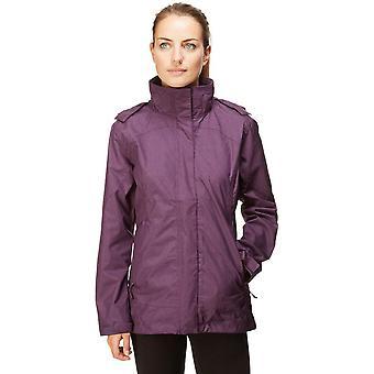 New Peter Storm Women's Glide Marl Waterproof Jacket Purple