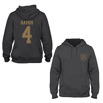 Sergio Ramos 4 Real Madrid stijl speler hoodie