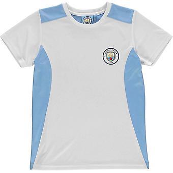 Source Lab Machester City T Shirt Junior Boys