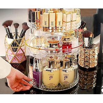 Degree Rotating Cosmetic Storage Box Makeup (clear)