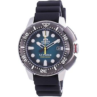 Orient M-force Automatic Diver's Ra-ac0l04l00b 200m Men's Watch