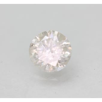 Sertifioitu 0,54 karat G Väri SI3 Pyöreä Brilliant Natural Loose Diamond 5,18mm