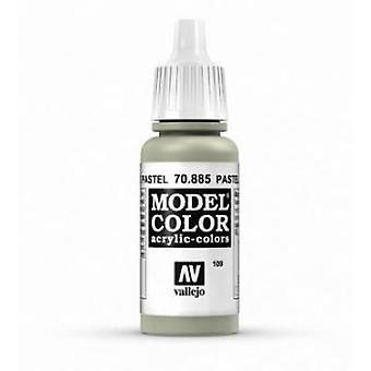 Vallejo Model Color 17ml Acrylic Paint - 885 Pastel Green