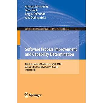 Software Process Improvement and Capability Determination - 14th Inter
