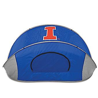 Manta - Blue (University Of Illinois Fighting Illini) Digital Print Tent