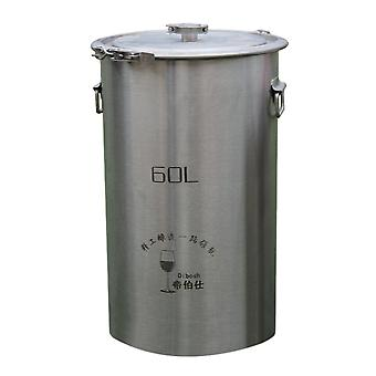 304 Stainless Steel Home Fermenter Barrel 60l Without Faucet