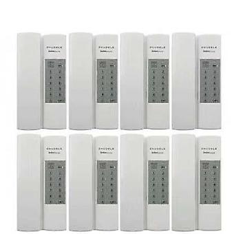 Zhudele kiváló minőségű multifunkciós biztonságos és kényelmes otthoni interphone (8-út)