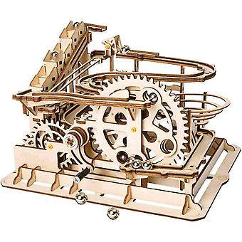 HanFei Murmelbahn Holz 3D Puzzle Erwachsene Kugelbahn Spiel Perpetuum Mobile Mechanische Technik
