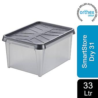 Orthex SmartStore Waterproof All Purpose Dry Storage Box, Dry 31 - 33L