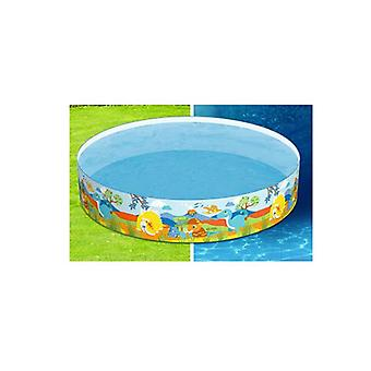 Swimming Pool Above Ground Kids Play Fun Inflatable Round