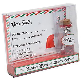 Widdop Bingham Letter & Santa Wish Jar