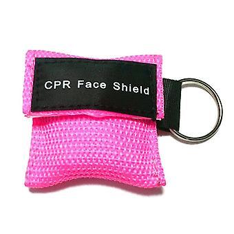 Resuscitator Mask Keychain Emergency Face Shield First Aid