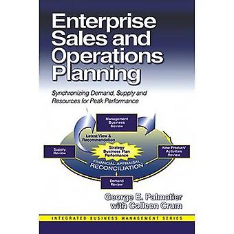 Enterprise Sales  Operations Planning by George Palmatier & Colleen Crum