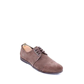 Beige suede casual shoes | wessi