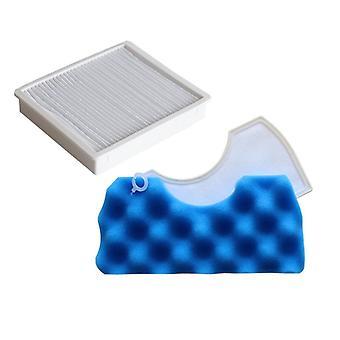 Kit de filtre Blue Sponge Hepa Pour Samsung Dj97-01040c Sc43 Sc44 Sc45 Sc47 Series