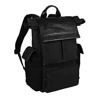 Kamel aktiv, herrryggsäck för fritid, arbetsryggsäck, dagsryggsäck, neapel dag ryggsäck, svart