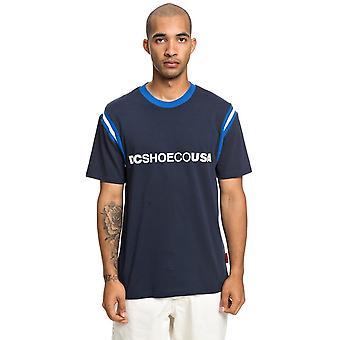 DC Kesters Short Sleeve T-Shirt in Black Iris