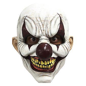 Chomp Joker mal sinistre Costume effrayant de Mens frais généraux Latex masque de Clown horreur