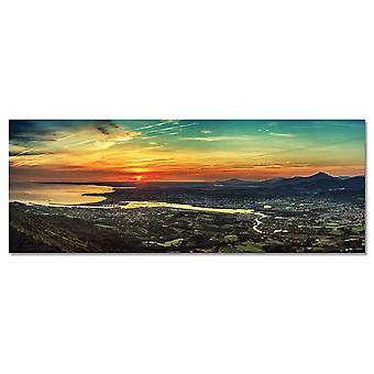 Zachód słońca w Baskowie