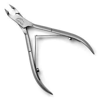 """Mont Bleu Cuticle Nippers, Spring Mechanism, made of Stainless Steel - 5mm / 0.20"""" inches"""