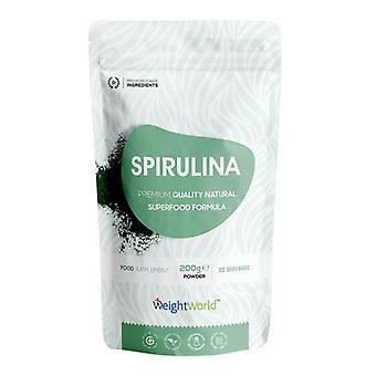 Super Spirulina Powder - 200g Algae Supplement - For Vitality & Immunity - Premium Organic Vegan Friendly Superfood - Enriched With Amino Acids