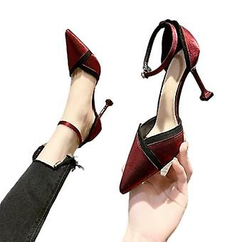 Socialite French Red Heels