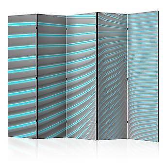 Biombo - Neon Blue II [Room Dividers]