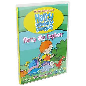 Harry The Explorer: Harry & His Bucket Full of Dinosaurs DVD