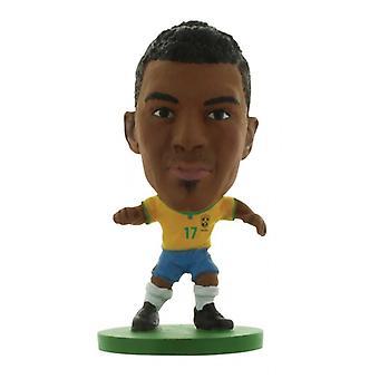 Soccerstarz Brasilien Luiz Gustavo Home Kit