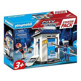 Playset City Action Police Starter Pack Playmobil 70498 (37 stuks)