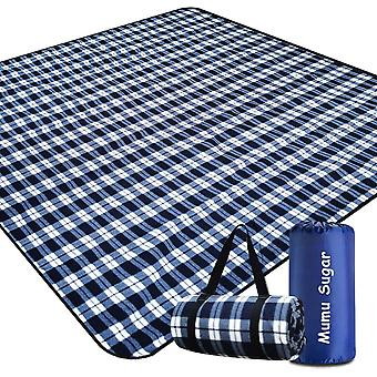 Waterproof Foldable Picnic Outdoor Blanket Picnic Mat For Camping Beach Park Family Concerts Fireworks